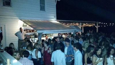 The surf lodge. One of the best places to go out in the Hamptons.